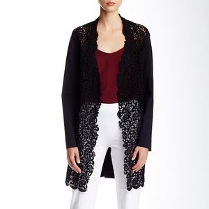 Elie Tahari Melody Lace Front Jacket